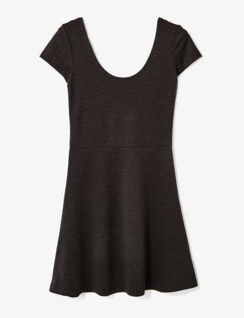 robe évasée noire