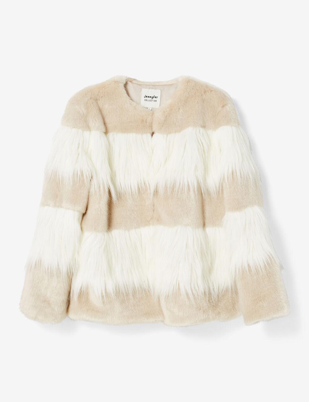pas cher pour réduction c97b1 d1367 Manteau fourrure femme jennyfer – Modèles populaires de vestes