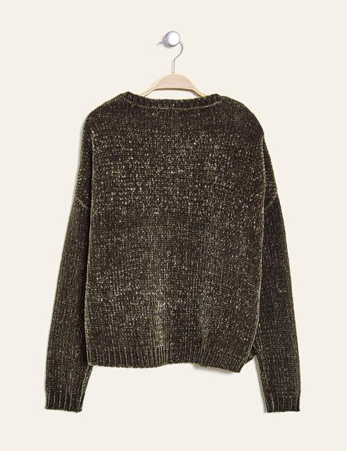 Khaki chenille jumper