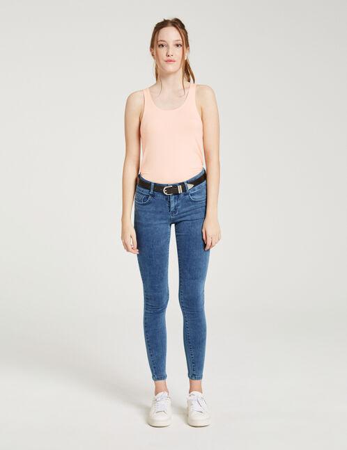 jean super skinny medium blue
