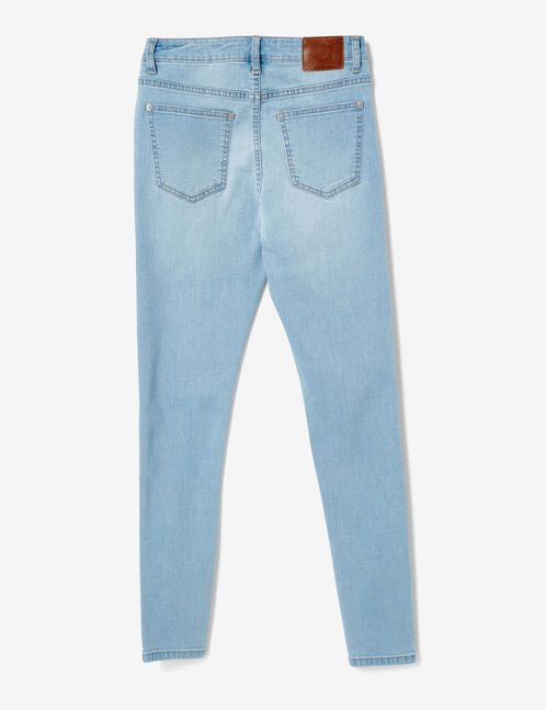 jean avec perles bleu clair