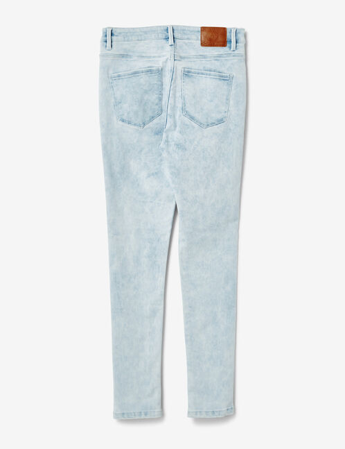 Bleached super skinny jeans