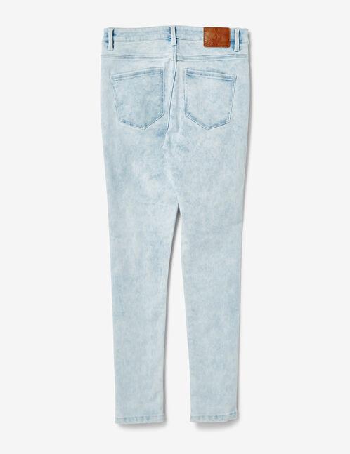 jean super skinny bleach