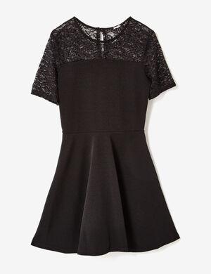 robe bi matière noire