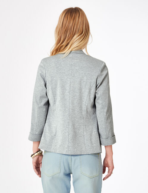 Grey marl blazer