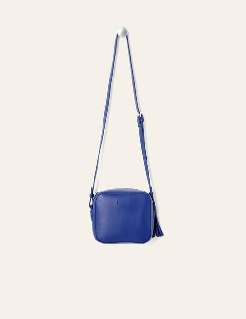 Small indigo rectangular crossbody bag