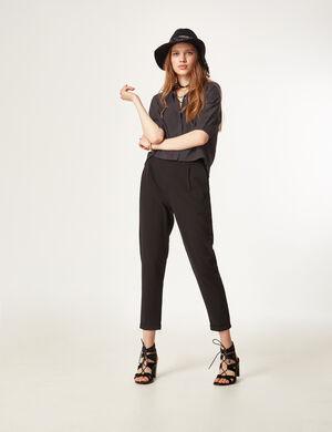 pantalon ville noir