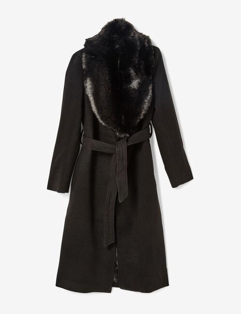 veste longue avec ceinture