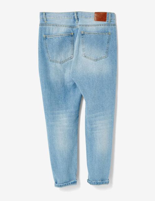 Light blue boyfriend jeans