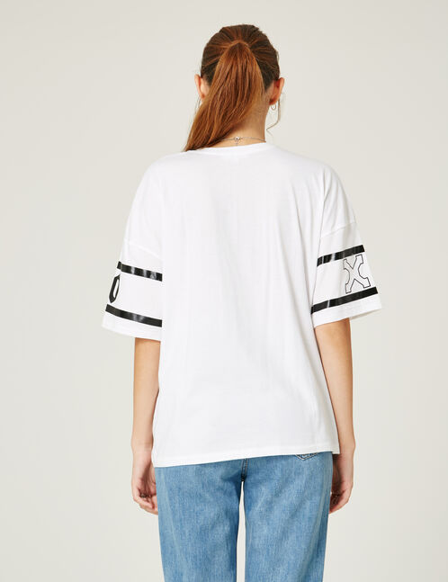 "White ""whatever"" T-shirt"