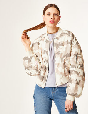 bomber camouflage beige