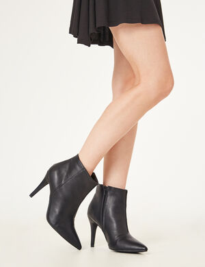 bottines à talons noires