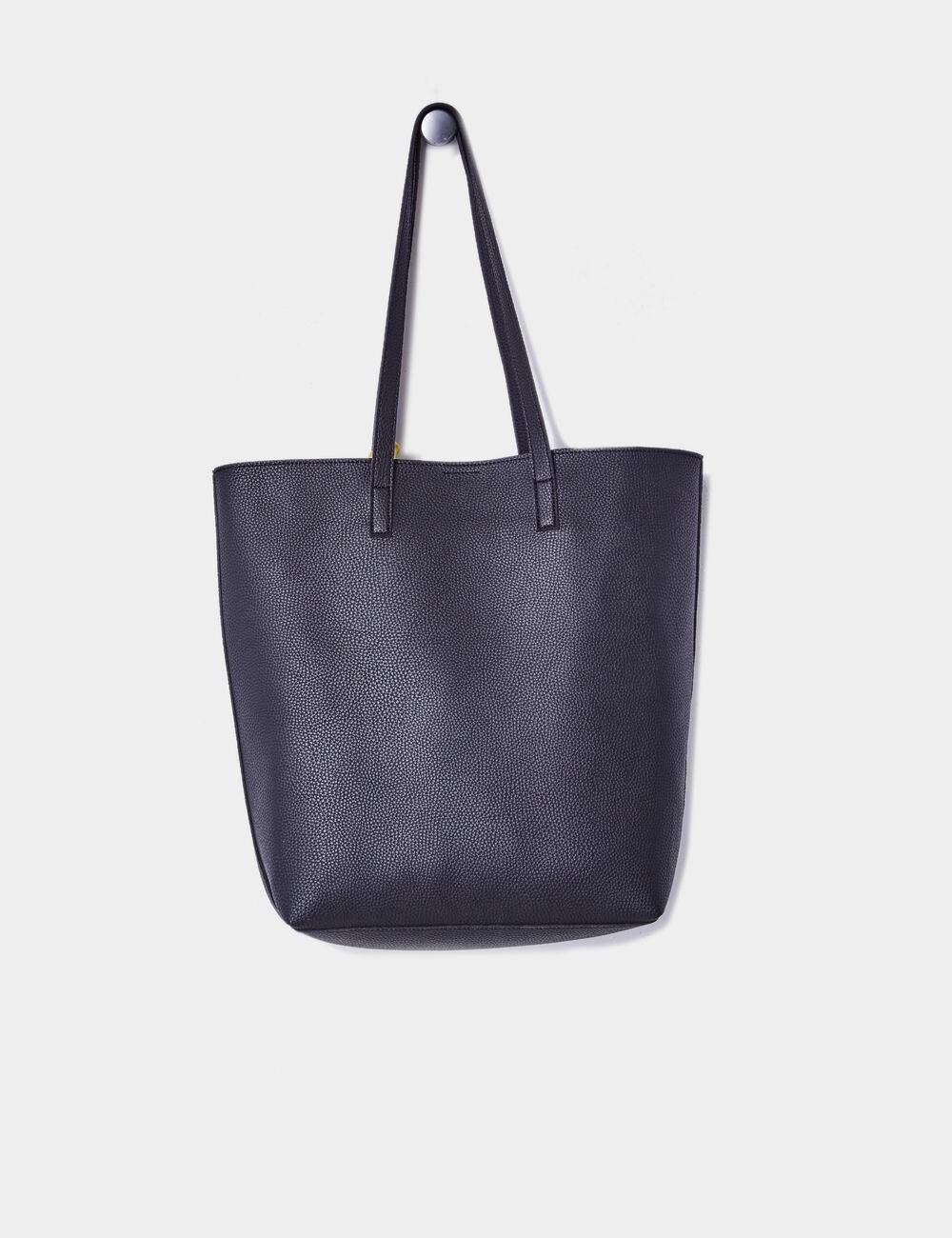 sac cabas avec foulard noir femme jennyfer. Black Bedroom Furniture Sets. Home Design Ideas