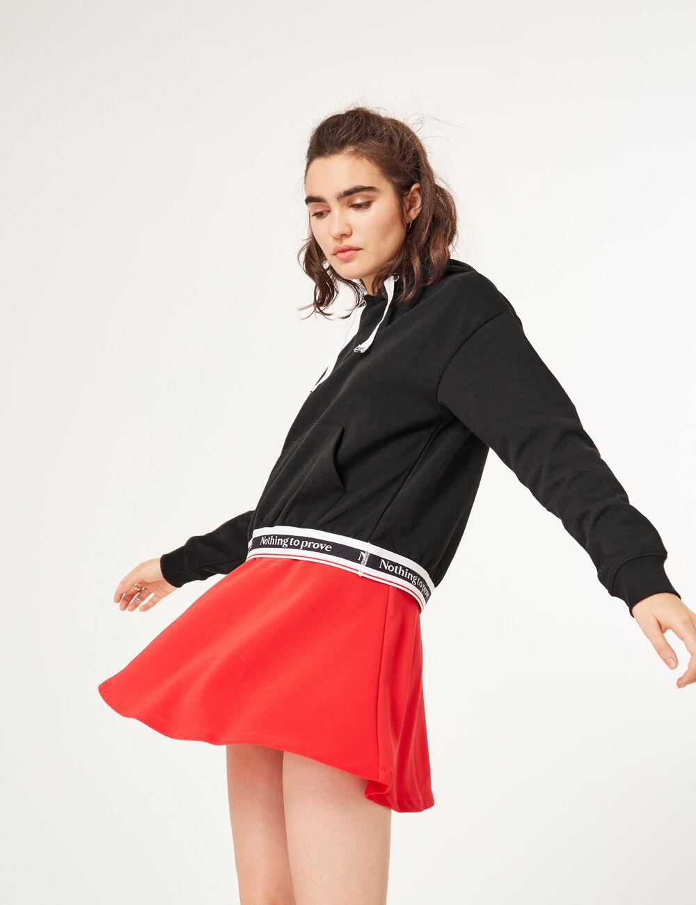 jupe patineuse rouge femme jennyfer. Black Bedroom Furniture Sets. Home Design Ideas