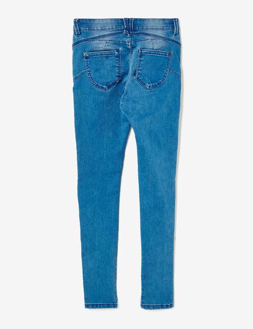 jean skinny push-up medium blue