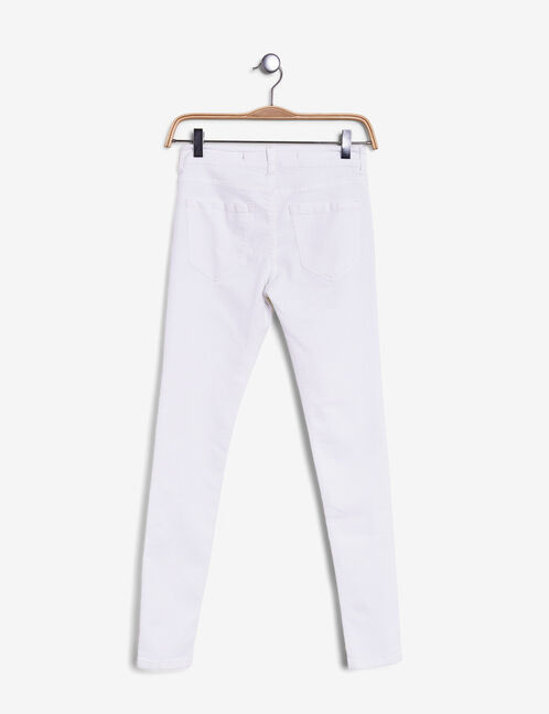 jegging basic blanc