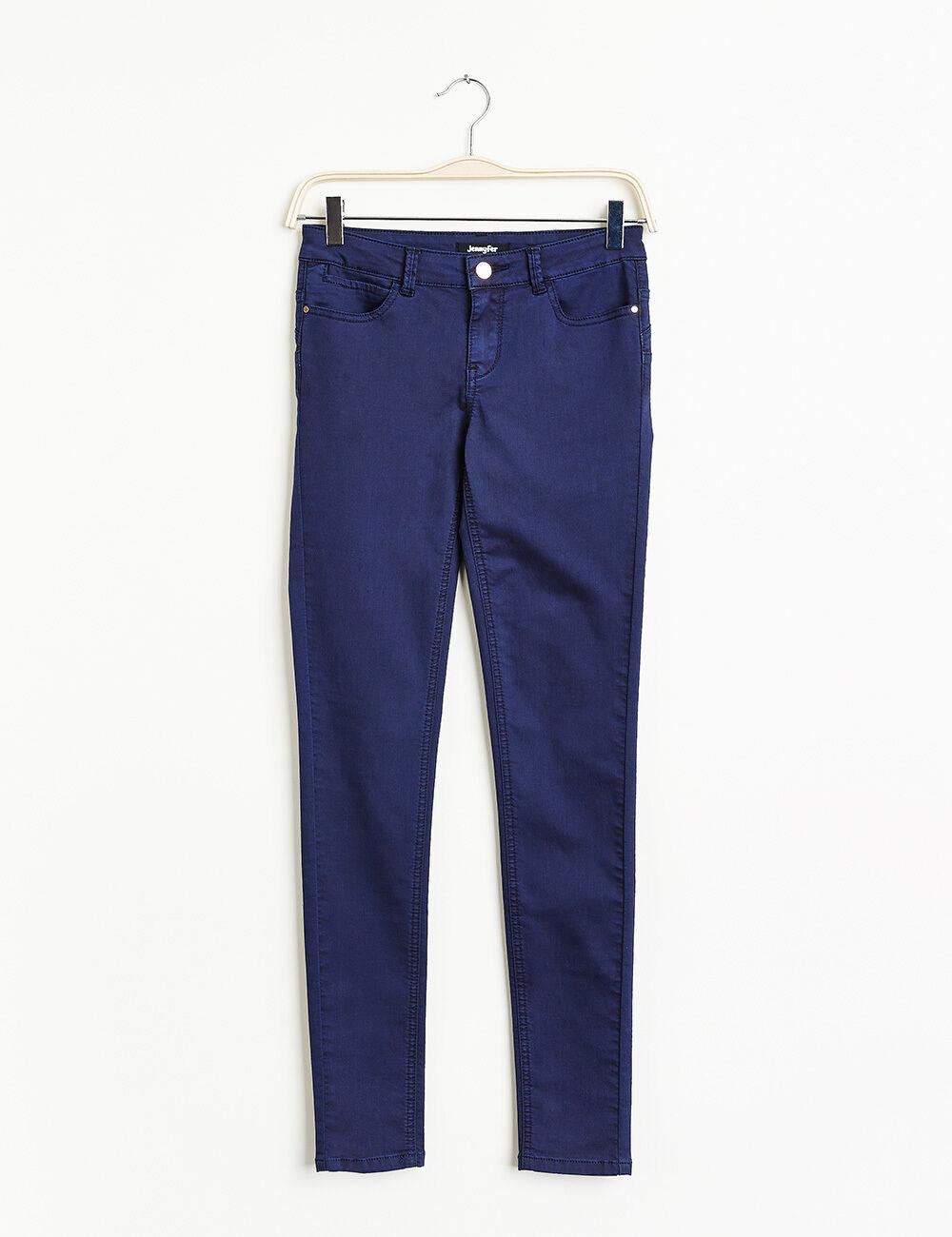 pantalon push up bleu marine femme jennyfer. Black Bedroom Furniture Sets. Home Design Ideas