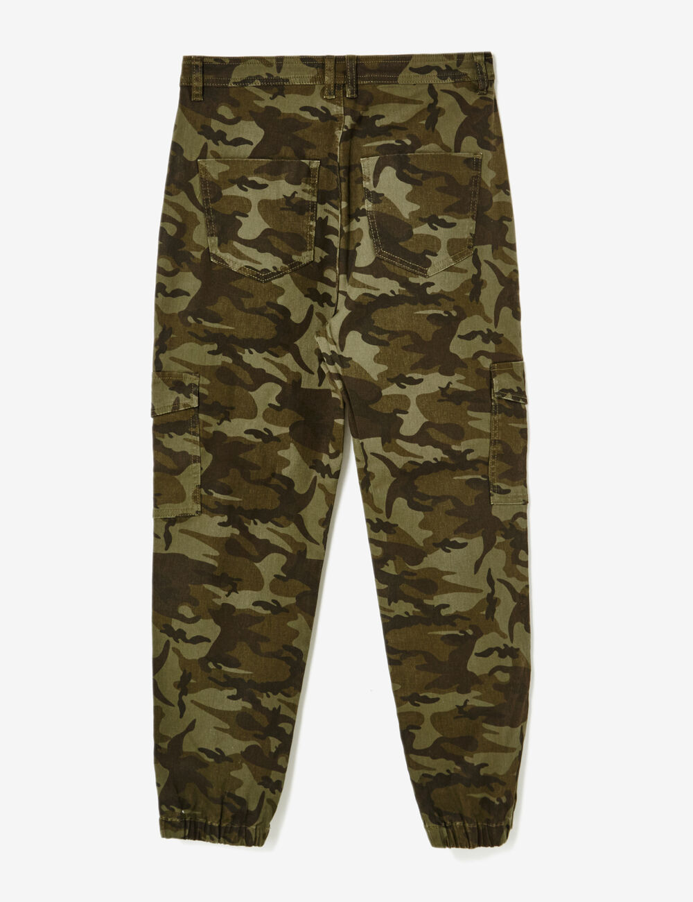 pantalon style baggy camouflage kaki femme jennyfer. Black Bedroom Furniture Sets. Home Design Ideas
