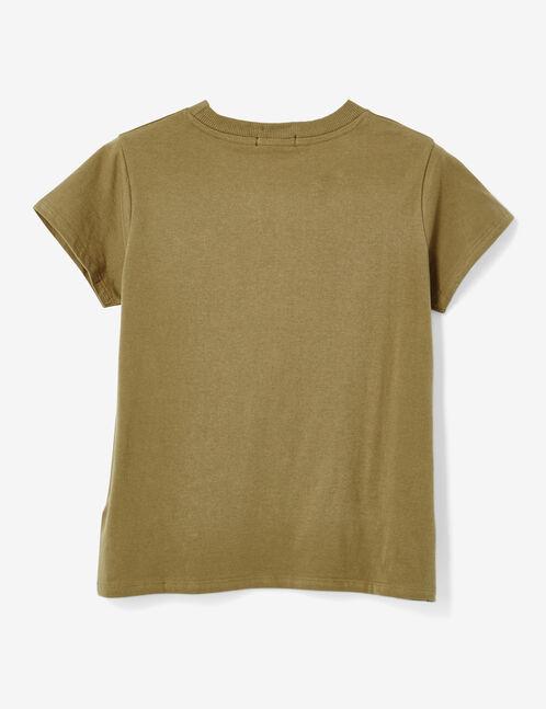 tee-shirt basic kaki