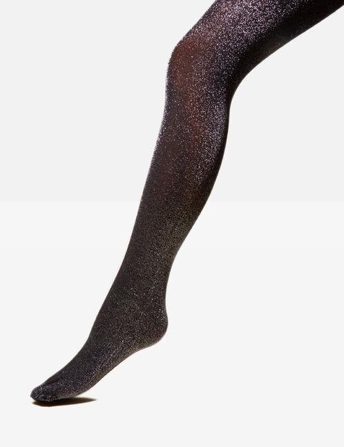 Black sparkly tights