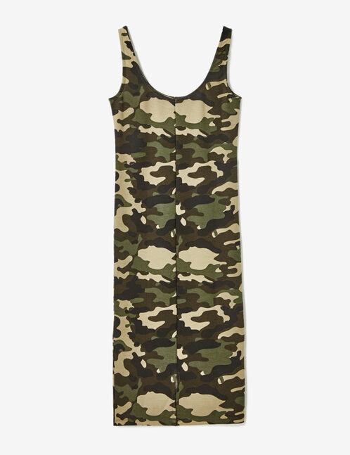 Robe tube camouflage