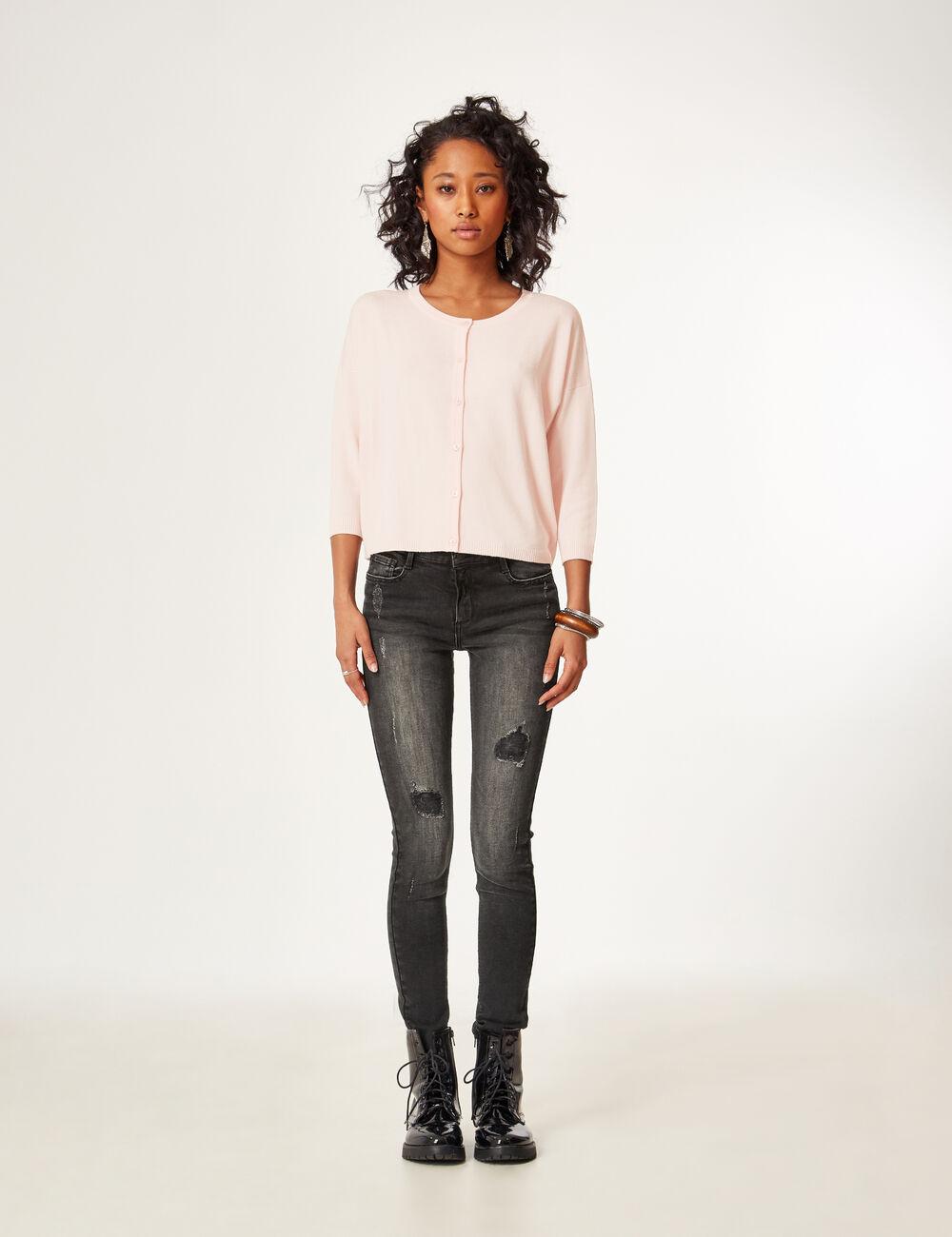 jean skinny taille basse noir femme jennyfer. Black Bedroom Furniture Sets. Home Design Ideas