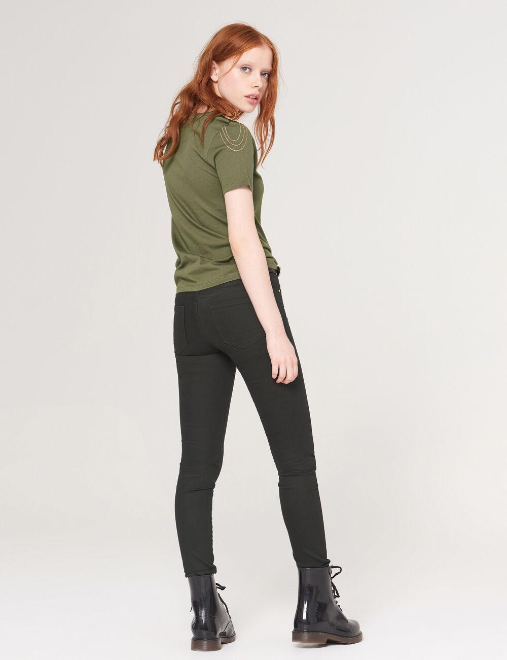 pantalon super skinny noir femme jennyfer. Black Bedroom Furniture Sets. Home Design Ideas