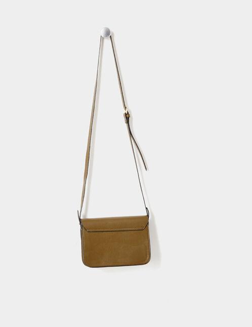 Khaki crossbody bag