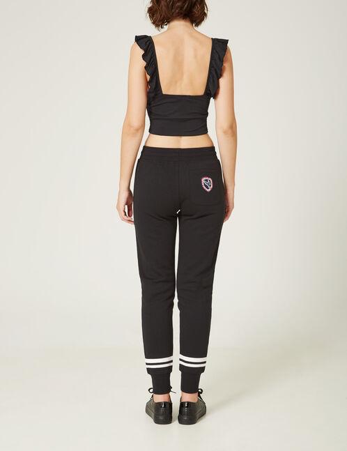 jogging slim keep track noir