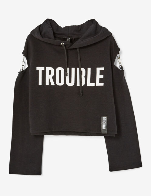 sweat trouble maker noir
