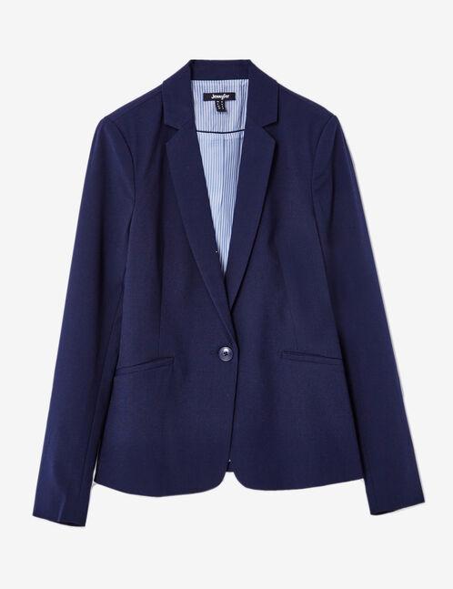 blazer bleu marine