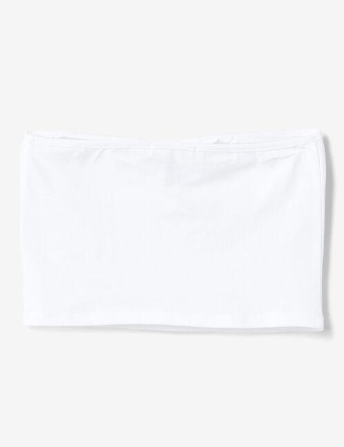 top bandeau blanc