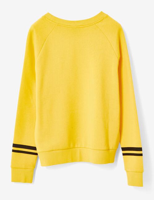 sweat jaune