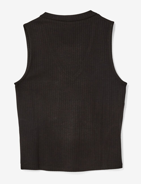 Black top with open detail