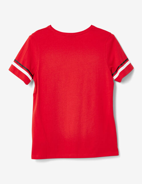 """Red """"mighty"""" T-shirt"""