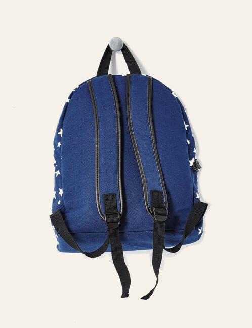 sac à dos esprit américain bleu marine