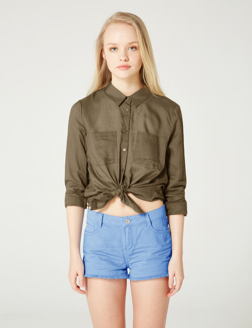 Basic khaki shirt