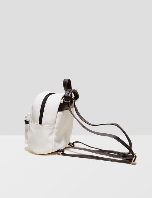 petit sac à dos blanc