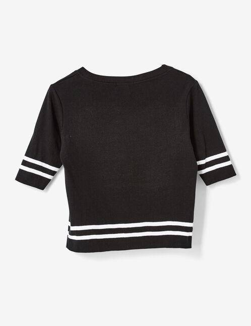 tee-shirt lover noir