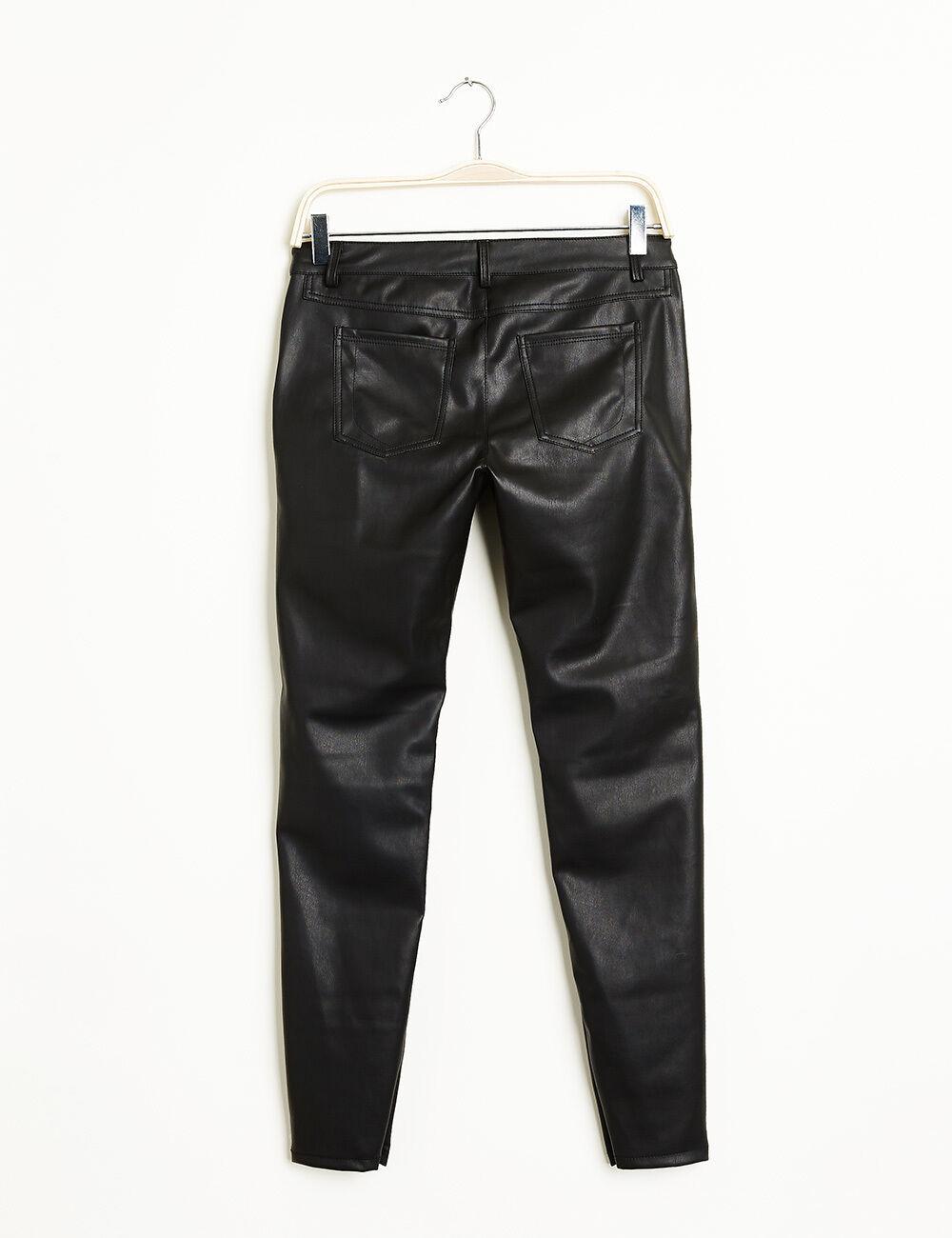 pantalon simili cuir noir femme jennyfer. Black Bedroom Furniture Sets. Home Design Ideas