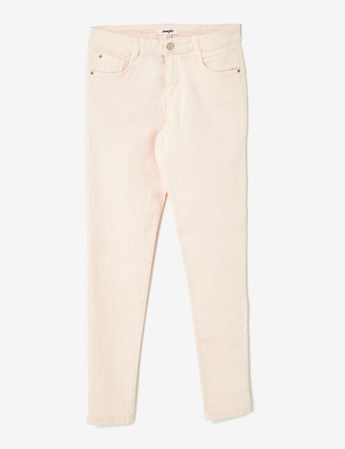 pantalon skinny push-up nude