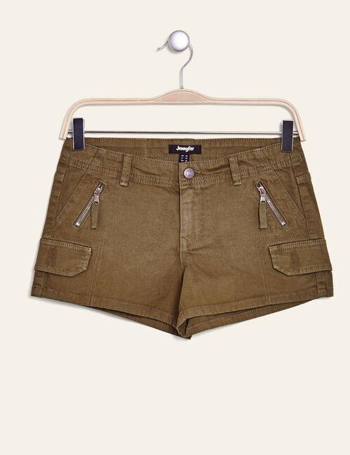 short style cargo kaki