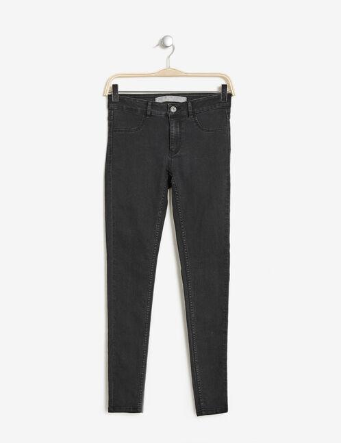 jegging en jean noir