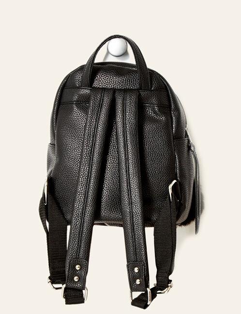 petit sac à dos avec pompon noir