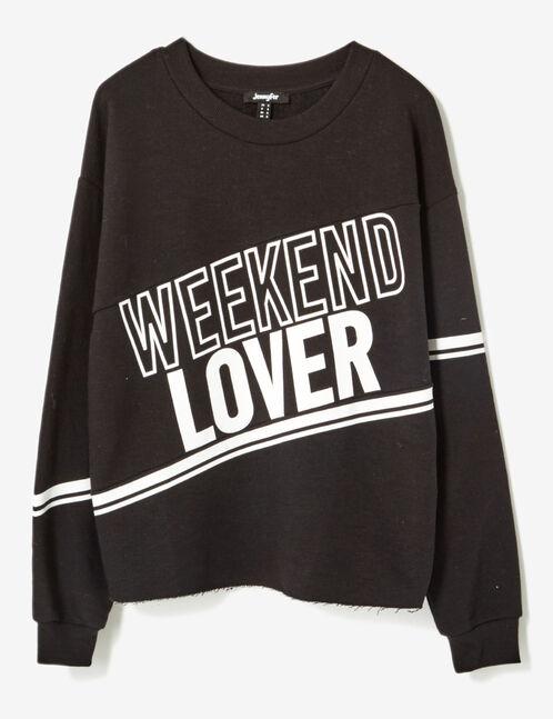 sweat weekend lover noir