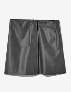Jupe À poches gris anthracite