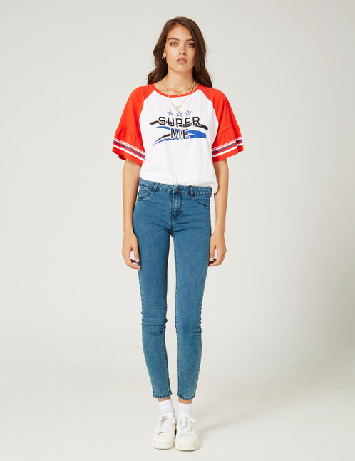 jean skinny medium blue