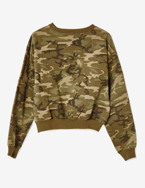 sweat court camouflage kaki