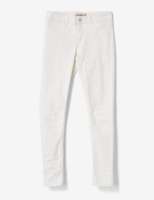 White jeggings