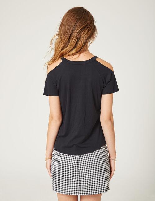 tee-shirt influencer noir